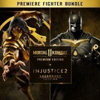 Jogo Mortal Kombat 11 EP + Injustice 2 EL - Premier Fighter - PS4
