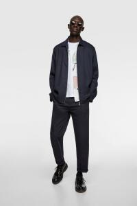 Camisa Comprida com zíper | Zara