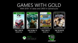[Xbox Live] Jogos With Gold - Fevereiro 2020