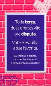 CASHBACK ESPECIAL - VOTAÇÃO (SMART TV OU NOTEBOOK)