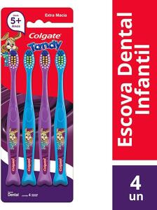 Escova Dental Colgate Tandy 4unid Promo 4un