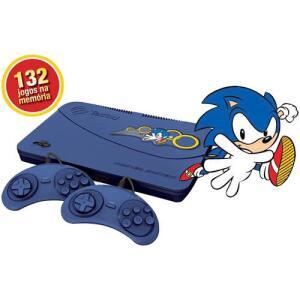 [C. Sub] Master System Evolution Blue com 132 Jogos na Memória - Tectoy