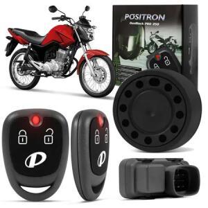 Alarme Moto Universal Positron Duoblock PRO 350 G8 Sensor Movimento Função Presença Com 2 Controles
