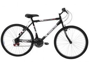 Bicicleta Aro 26 Houston Foxer Hammer-Freio V-Brake 21 Marchas