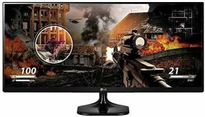 """Monitor LG Gamer LED 25"""" IPS Ultrawide Full HD - 25UM58"""