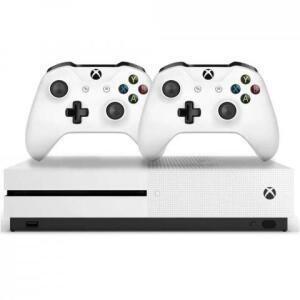 Xbox one s 1TB 2 controles (diversos lugares frete grátis)