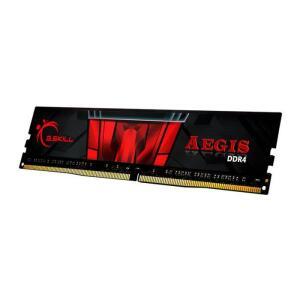 Memoria G.Skill Aegis 8GB (1x8) DDR4 3000Mhz CL16, Preta, F4-3000C16S-8GISB