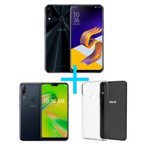 ZenFone 5 4GB/64GB Preto + Zenfone Max Shot 3GB/32GB Preto + Bumper para Zenfone Max shot   R$1.799