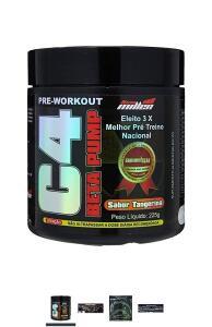 [ oferta relâmpago] C4 Beta Pump Extreme Pre-Workout Tangerina, New Millen, 225g