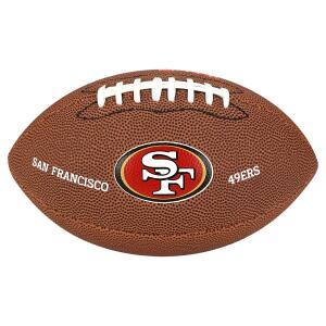 Bola Futebol Americano Wilson San Francisco 49ers - Marrom