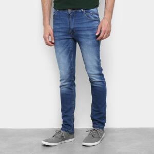 Calça Jeans Black River Skinny Masculina - Azul R$50