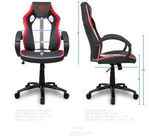 Cadeira Gamer TGT Fury Vermelha, TGT-FUR-RED