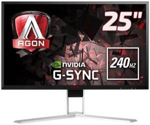 "Monitor Gamer AOC 24.5"" AG251FZ2 240Hz LED Full HD 0,5ms Free-Sync"