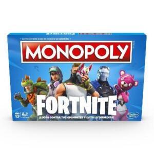 Jogo Monopoly Fortnite Hasbro E6603 13868 R$ 113