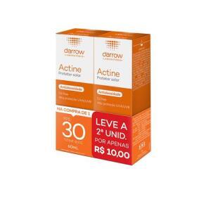 Kit Protetor Solar Facial Darrow Actine FPS30 2 Unidades