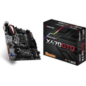 Placa Mãe Biostar Racing X470 AMD AM4