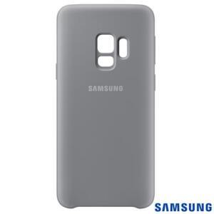 Samsung Capa Silicone Galaxy S9 EF-PG960TJEGBR (Cinza)