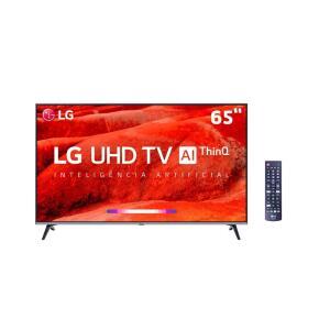 "Smart TV LED 65"" UHD 4K LG 65UM7520PSB   R$3.040"