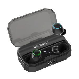 BlitzWolf® BW-FYE3S True Wireless Headphone with 2600mAh Charging Box - Bluetooth 5.0 | R$145