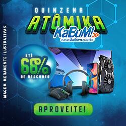 Até 68% OFF na Quinzena Atomika KaBuM!