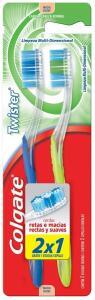 2 Kits - Escova Dental Colgate Twister 2 unidades cada