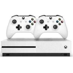 Console Xbox One S 1tb 4k 2 Controles Branco - Microsoft R$1.550