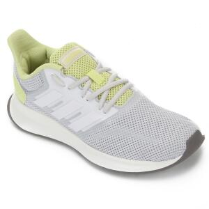 Tênis Adidas Run Falcon Feminino - Cinza e Branco R$170