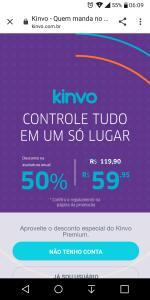 Kinvo Premium - R$5,00/mês