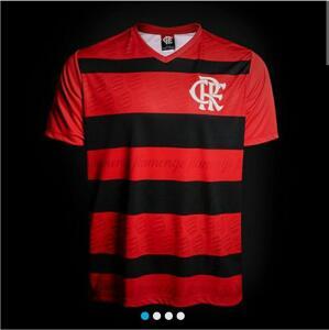 Camisa Flamengo 1995 n° 10 - Edição Limitada Masculina - Vermelho e Preto