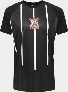 Camisa do Corinthians 2005 s/n° Masculina - Preto e Branco   Netshoes