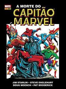 A Morte do Capitão Marvel - capa dura