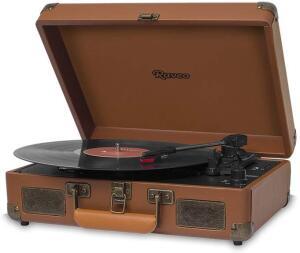 [Prime] Vitrola Brown com USB e Bluetooth, Bivolt, Raveo, Sonetto, 10 R$ 290
