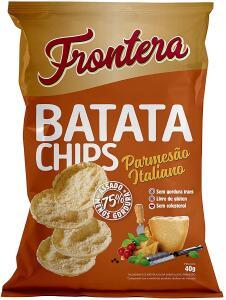 Leve 5 unidades de Batata Chips Parmesao Frontera 40g R$ 16