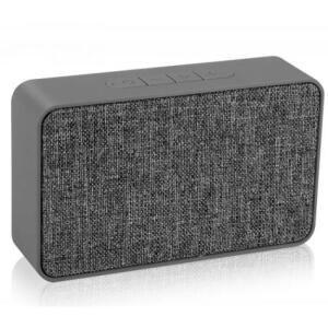 Caixa de Som Portátil Speaker Cinza 5W Bluetooth Xtrax X500 R$ 83