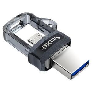 Pen Drive SanDisk Ultra Dual 32GB Micro USB/USB 3.0 | R$48