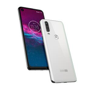 Smartphone Motorola Moto One Action 128GB Branco 4G Tela 6,3″ Câmera Tripla 16MP Selfie 12MP Android 9