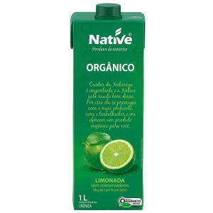 Leve 5 unidades Limonada Orgânica Native 1L R$ 29