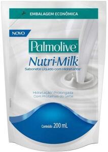 [Frete Prime] 5 Sabonete Líquido Palmolive Nutri-Milk Hidratante 200ml Refil - R$13