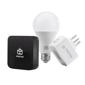 Kit Casa Conectada (Smart Lampada + Smart Plug + Controle IR Universal)   R$224