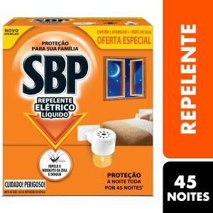 Leve 2 unidades de Repelente Elétrico Líquido 45 Noites R$ 19