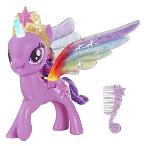 [Prime] Figura Asas De Arco-íris Twiligh Sparkle, My Little Pony, Rosa/roxo R$ 90