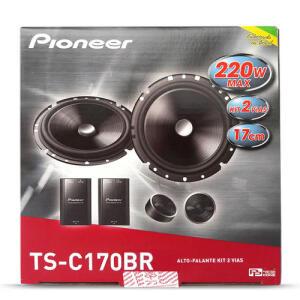 02 Par Kit 2 Vias Pioneer 6 pol 220w + Módulo Amplificador Stetsom