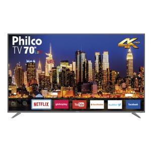 "Smart TV LED 70"" Philco PTV70Q50SNSG Ultra HD 4k   R$3510"
