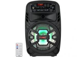 Caixa de Som Bluetooth TRC 510 Ativa Amplificada - 100W USB R$ 200