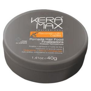 Skafe Keramax Reconstrução Capilar Hair Food - Pomada - 40g   R$6