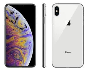Smartphone Apple iPhone XS Max 64gb Lacrado e Desbloqueado 1 ano de garantia (Silver)