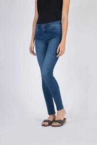 Calça jeans Skinny Destroyer, Taco, Feminino - R$74