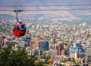 Voos para Santiago, saindo de São Paulo, por R$653