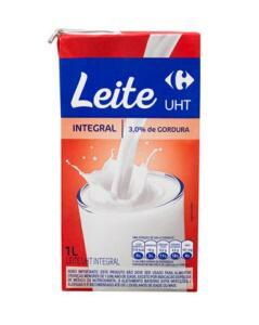 Leite UHT Integral Carrefour - 1 Litro