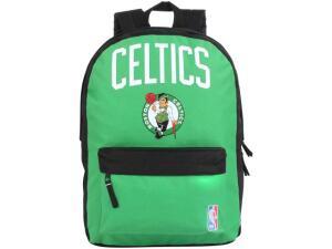 Mochila Juvenil Escolar Masculina Tam. G DMW - Sports Boston Celtics Verde
